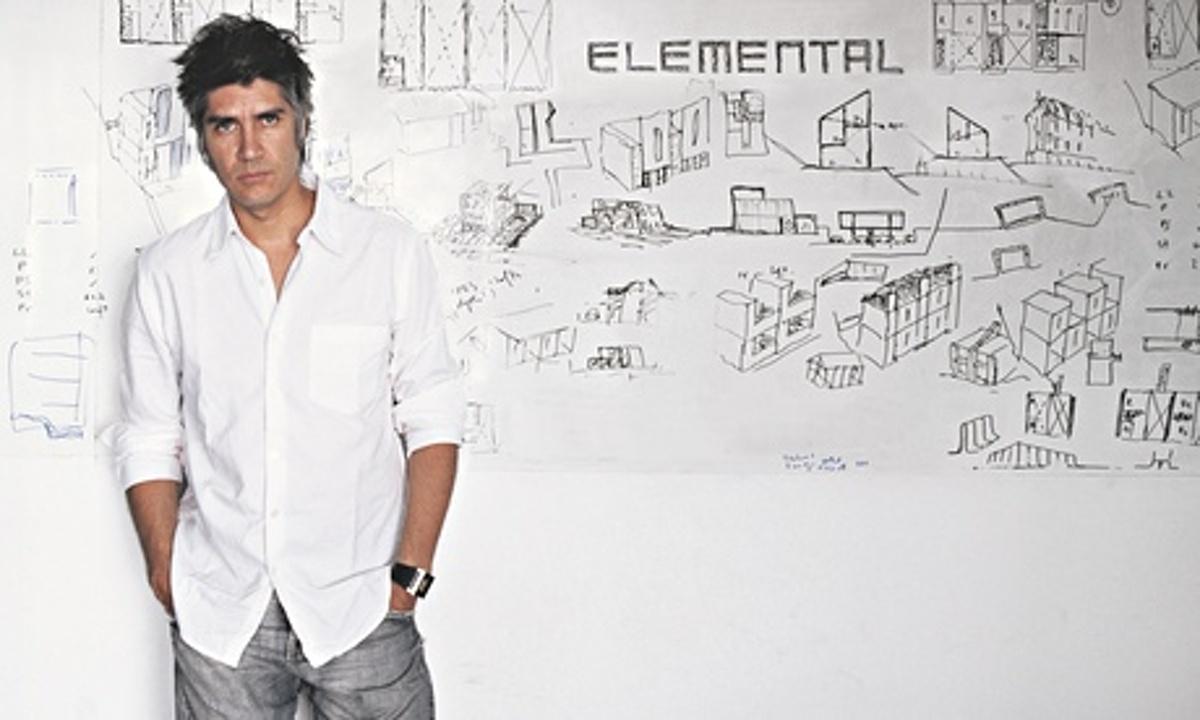 2016 Pritzker winner Alejandro Aravena