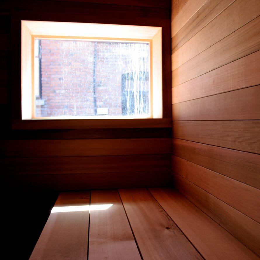 The Sauna Box by Castor interior