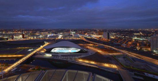 The London Aquatic Centre by Zaha Hadid Architects