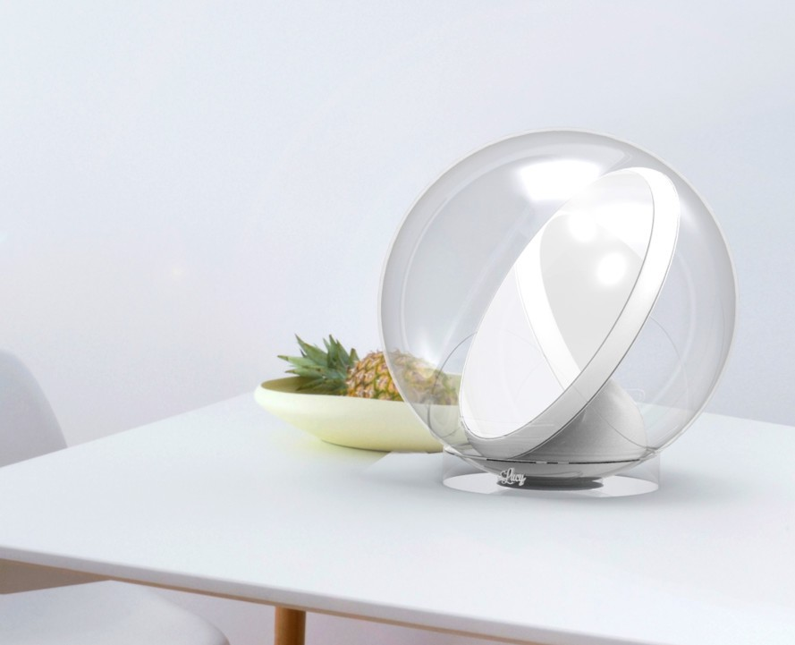 Solenica's solar-powered Lucy Lamp
