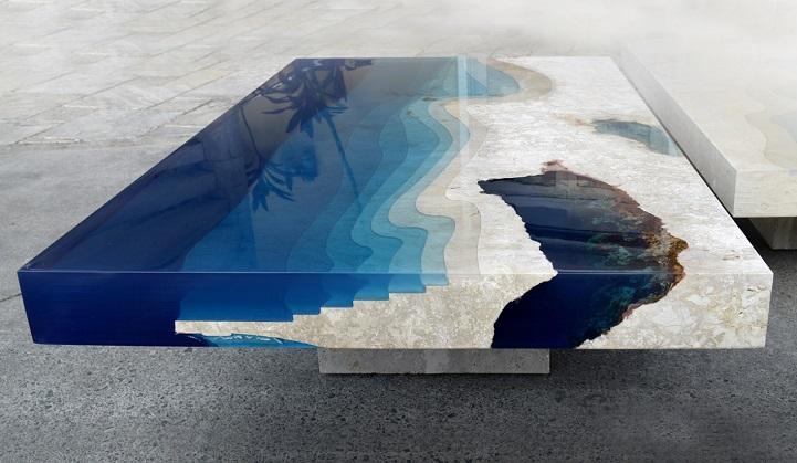 blue lagoon table 1