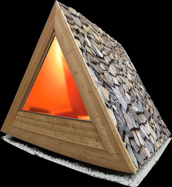 The Lushna Villa Air sauna module