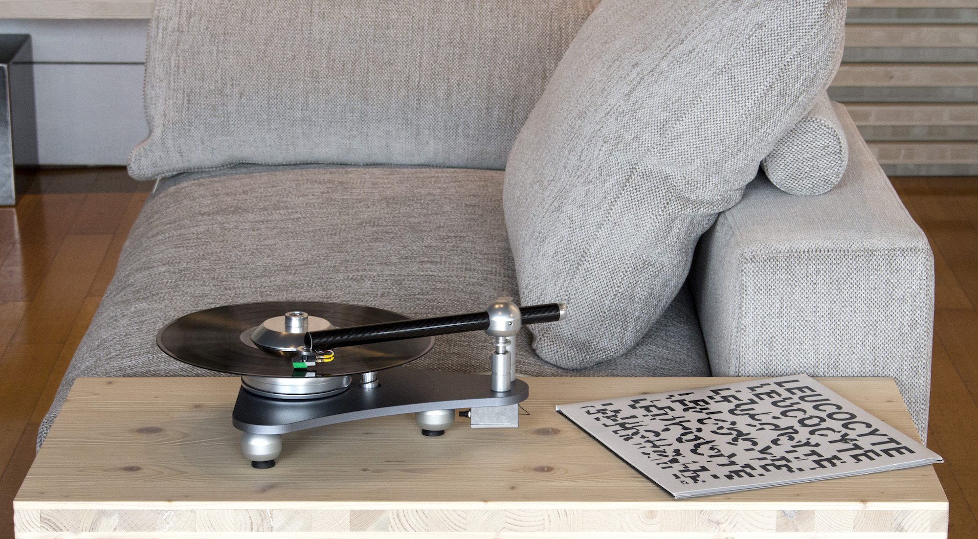 Atmo Sfera Platterless Turntable: designed with physics in mind