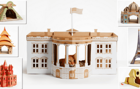 Cat Landmarks: cat boxes from Poopy Cats