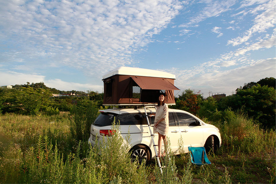 hardtop one 6 & Rooftop Camper: Hard Top Pop-Up Tent for Your Vehicle