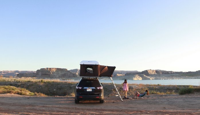Rooftop Camper Hard Top Pop Up Tent For Your Vehicle