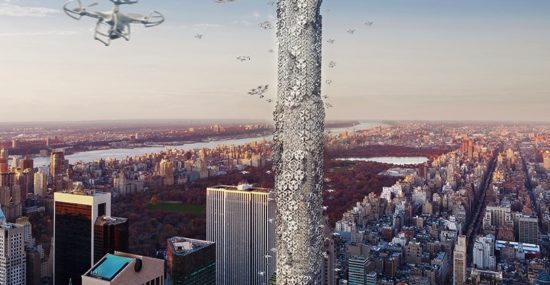 The Hive drone skyscraper: winner of the eVolo 2016 Skyscraper Competition