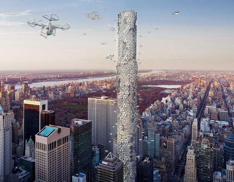 hive-drone-skyscraper