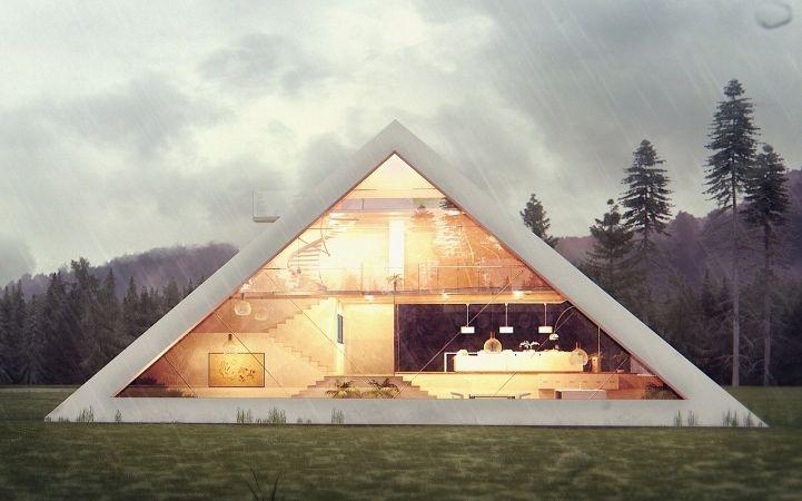 pyramid house 3