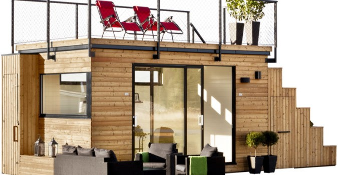 Tiny House with Rooftop Terrace
