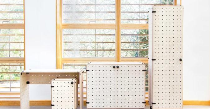 CRISSCROSS Modular Flat-Pack Furniture System