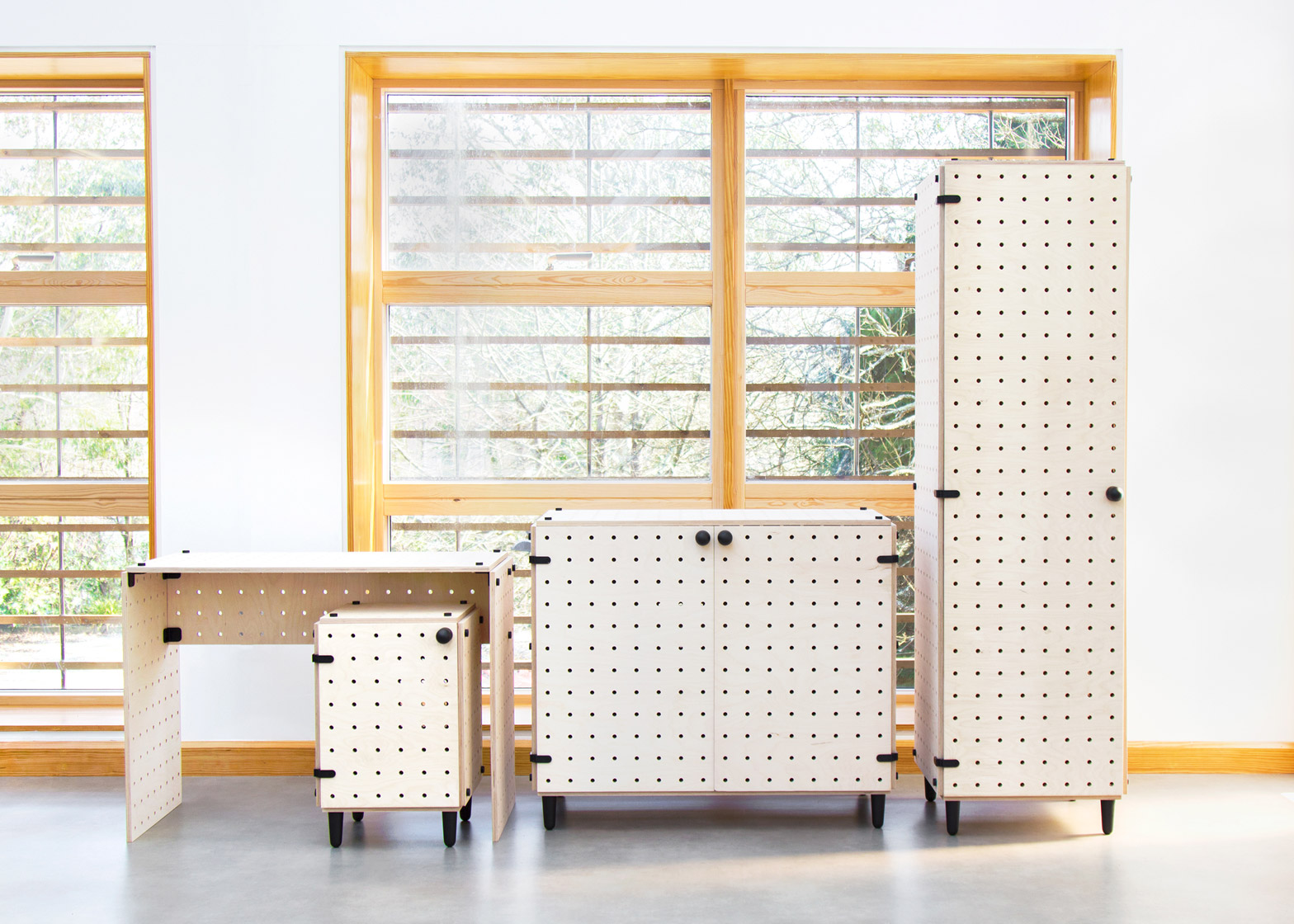 Move Often? This Flat-Pack Furniture System is Modular & Ultra-Portable