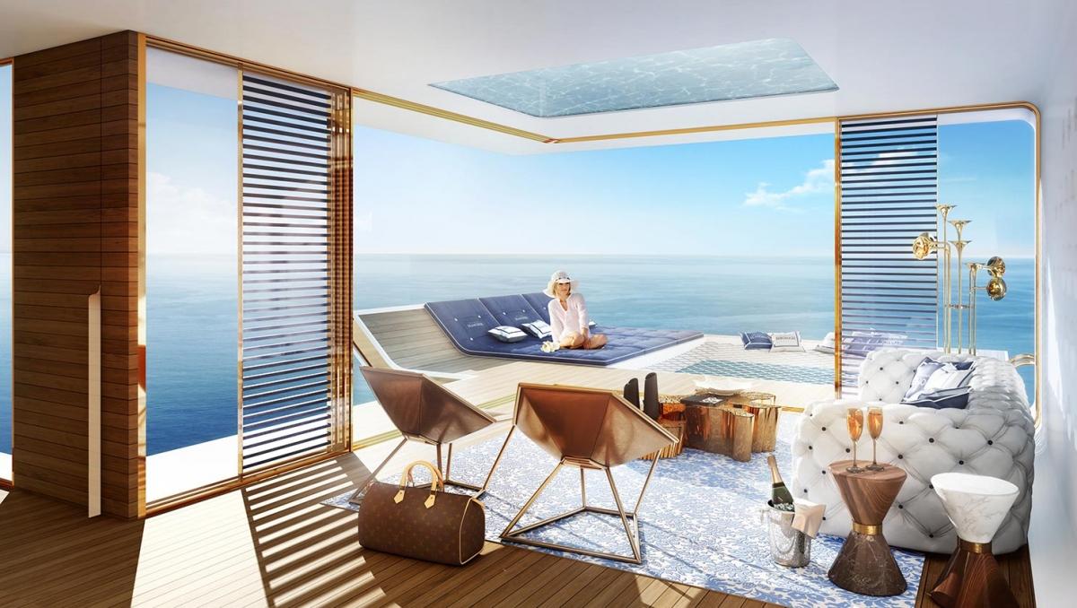 Floating Seahorse Livingroom