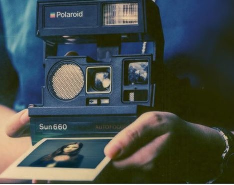 660 Polaroid camera