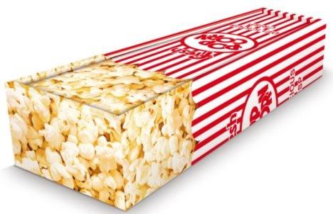 Popcorn coffin