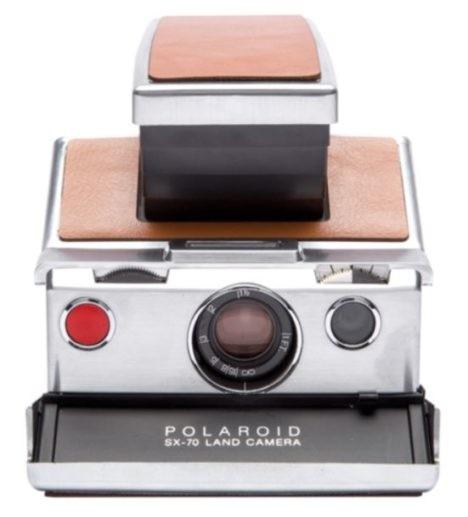 SX-70 Polaroid camera
