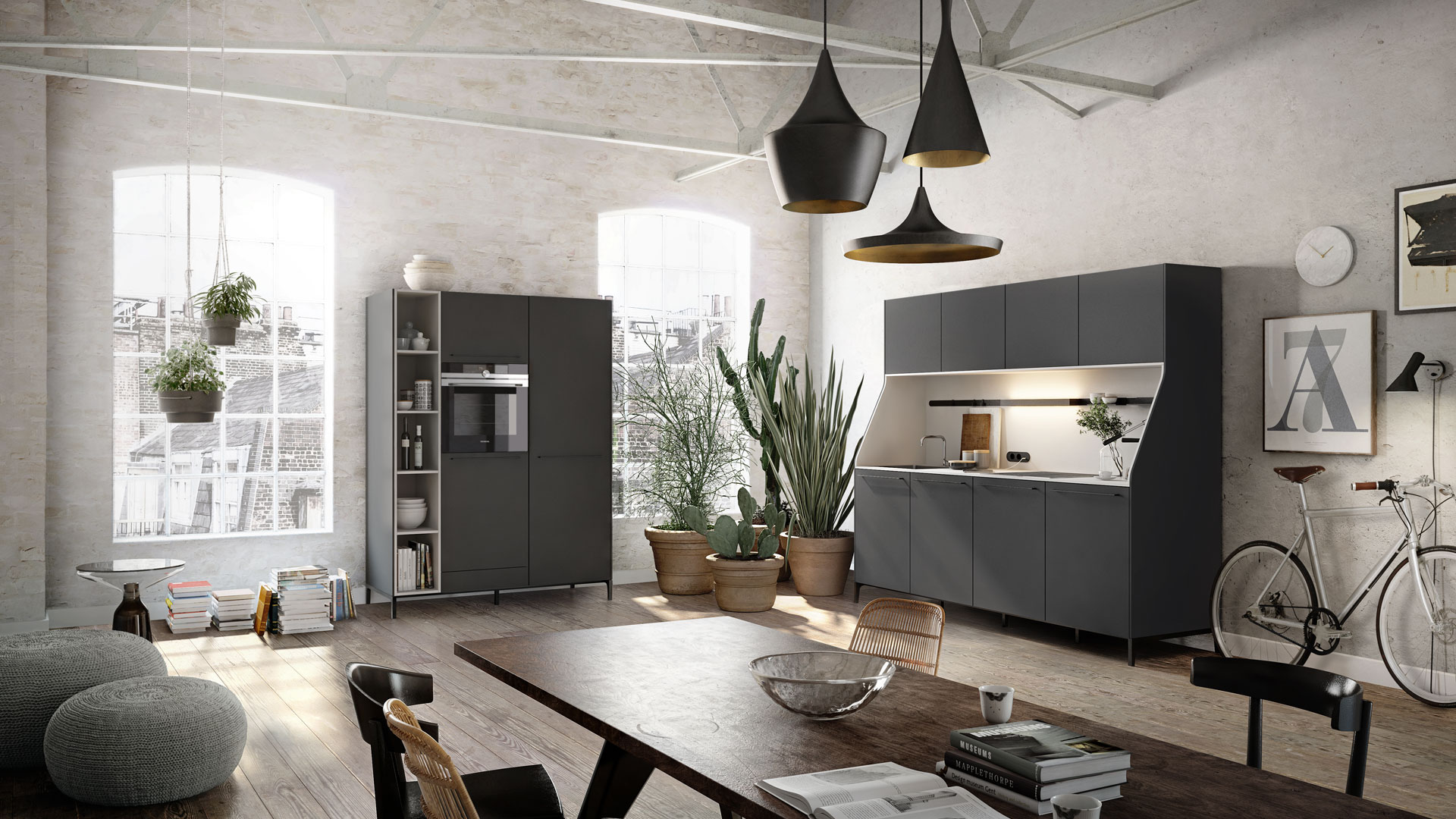 Siematic Urban Smooth Kitchen Design With Edge and Sophistication