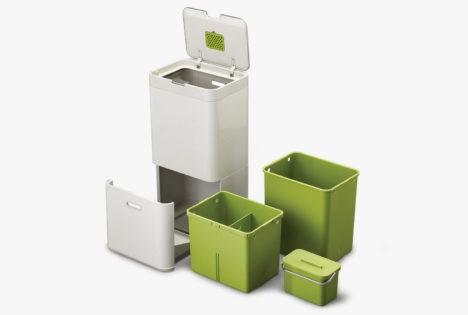 Totem waste management system