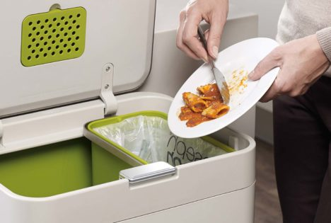 Totem kitchen waste system