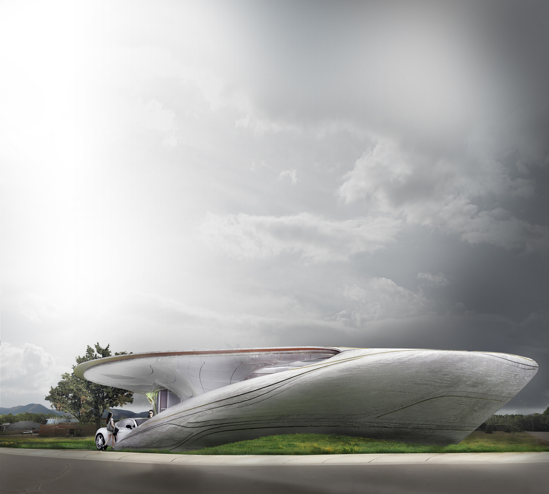 cocoon 3d printed house 2