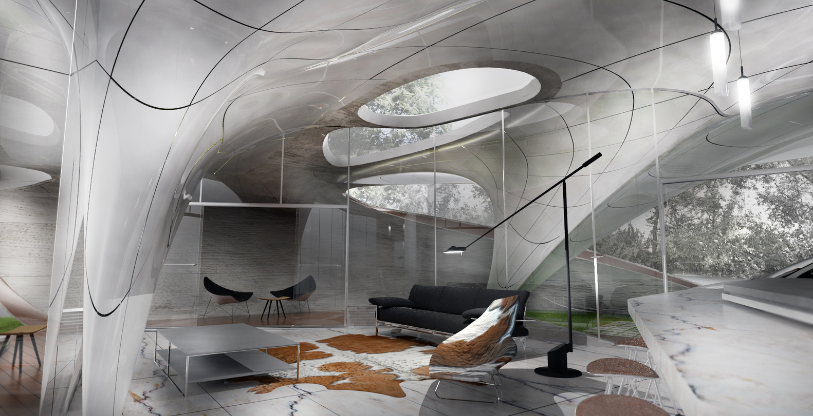 cocoon 3d printed house 6