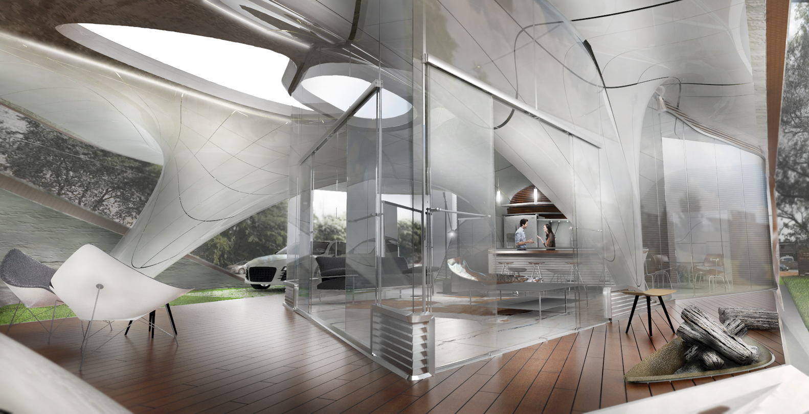 cocoon 3d printed house 8