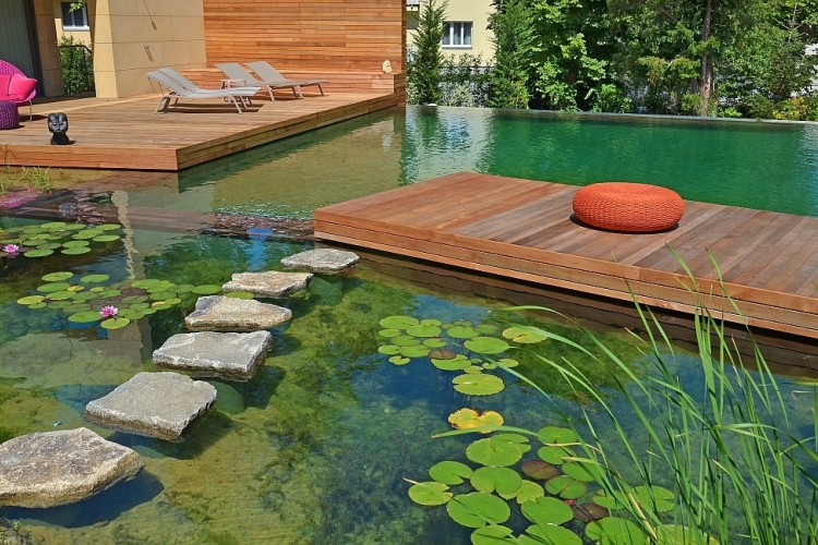 Your own private paradise natural swimming pools by biotop for Sustainable swimming pools
