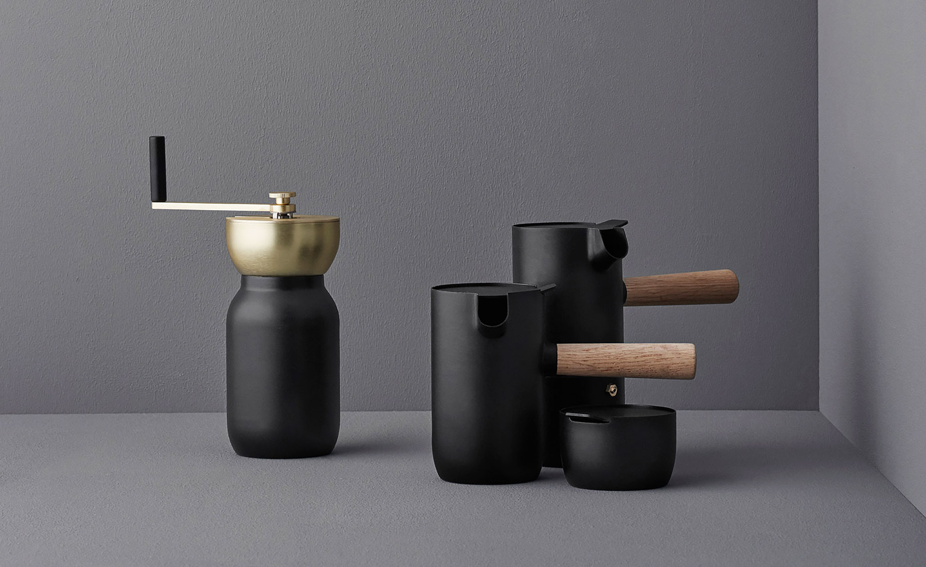 stelton collar coffee set 1