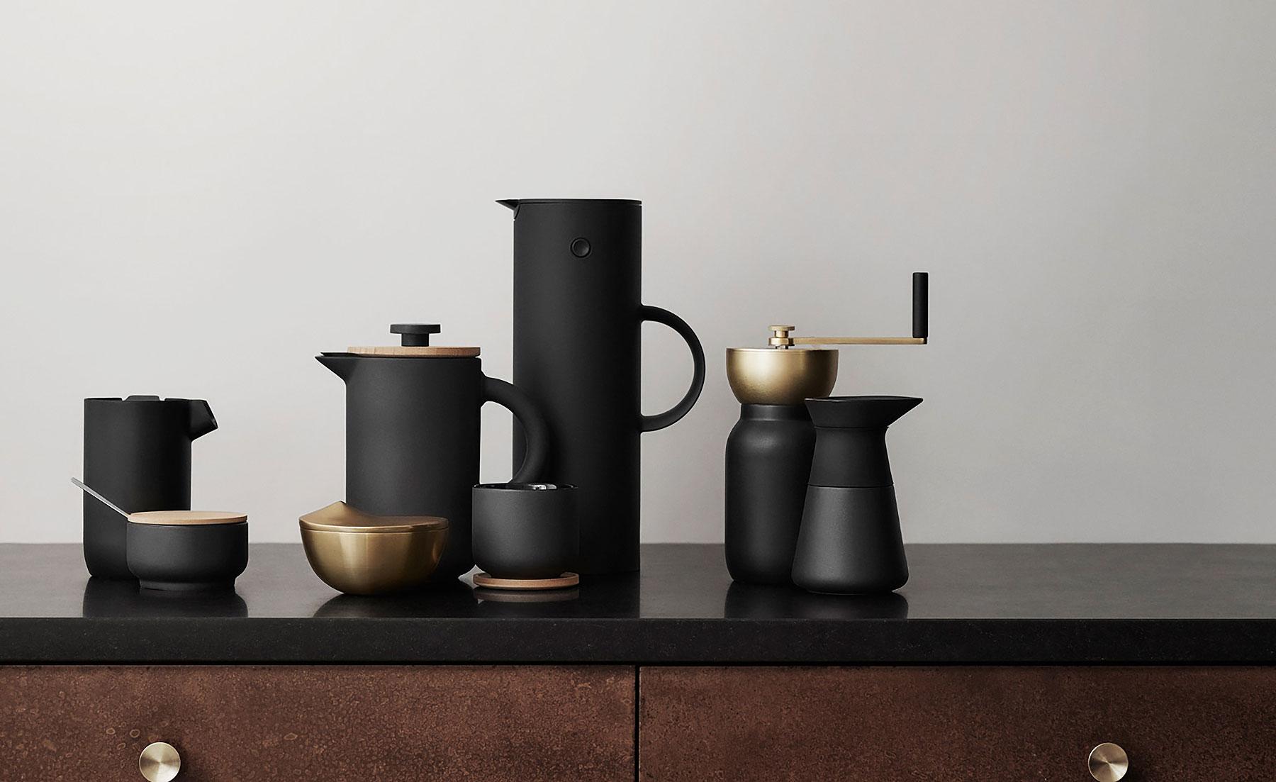 stelton collar coffee set 2