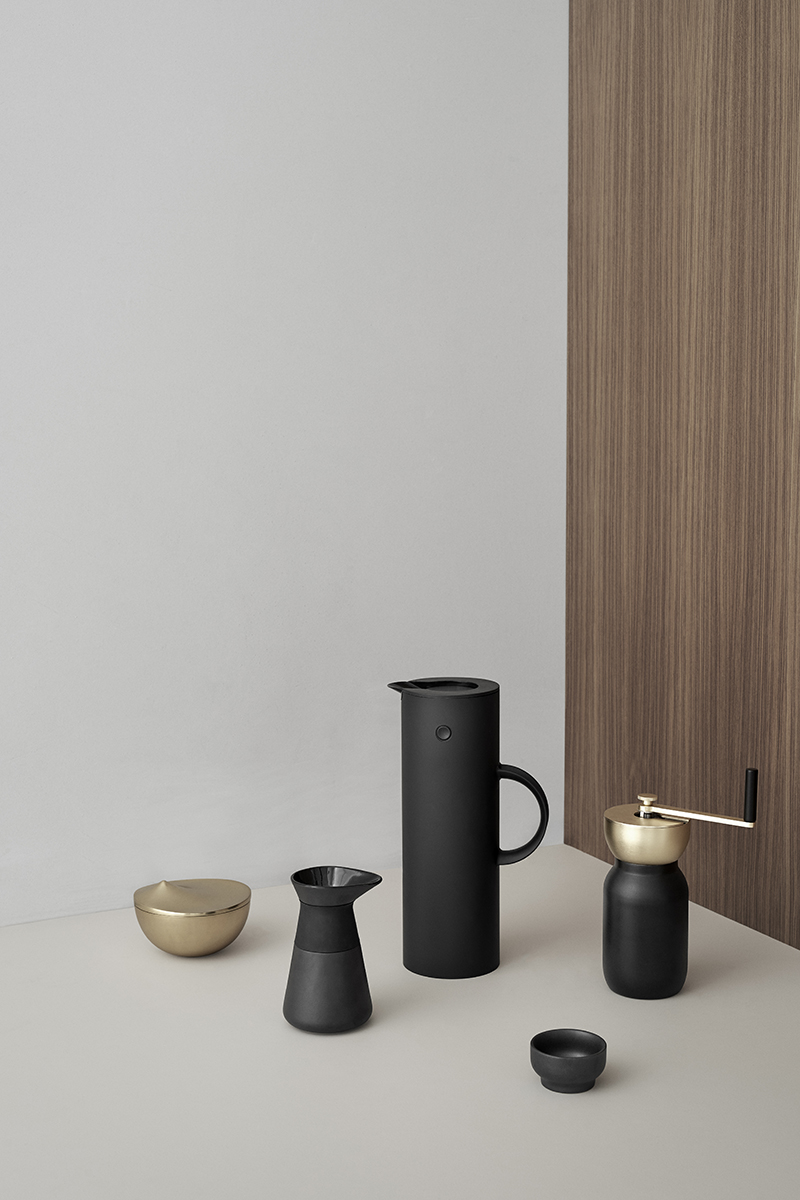 stelton collar coffee set 4