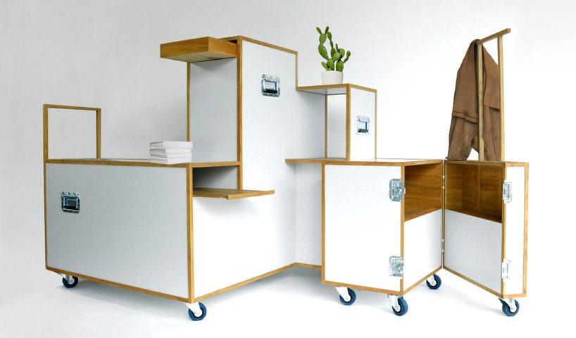 Closet Trolley Organization System