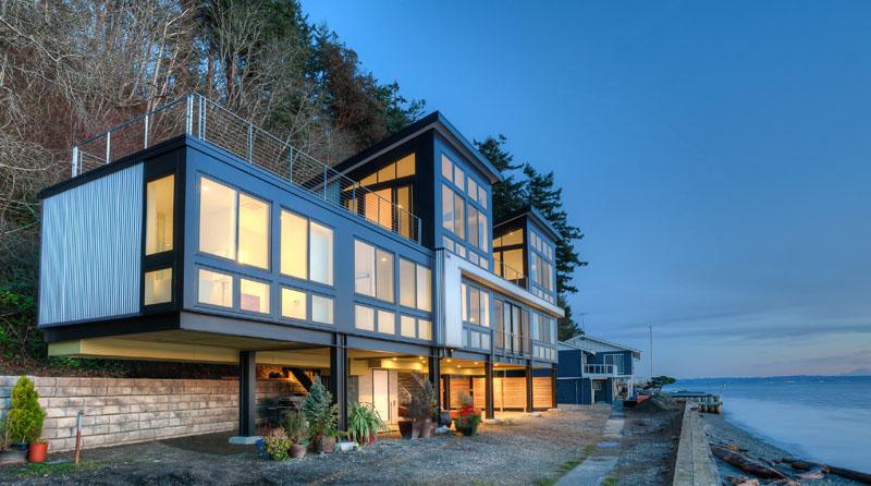 Modern Beach House on Stilts | Designs & Ideas on Dornob