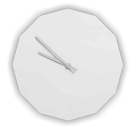 &blanc Dode clock