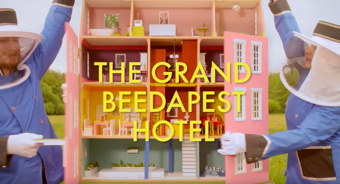 GRAND BUDAPEST BEE HOTEL 2