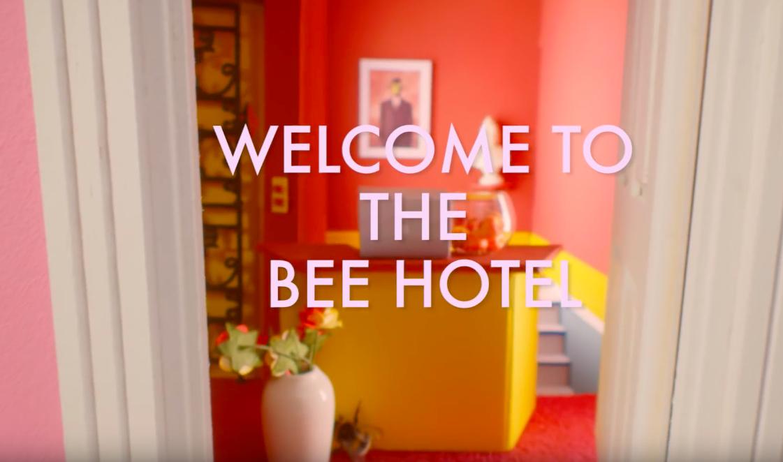 GRAND BUDAPEST BEE HOTEL 3