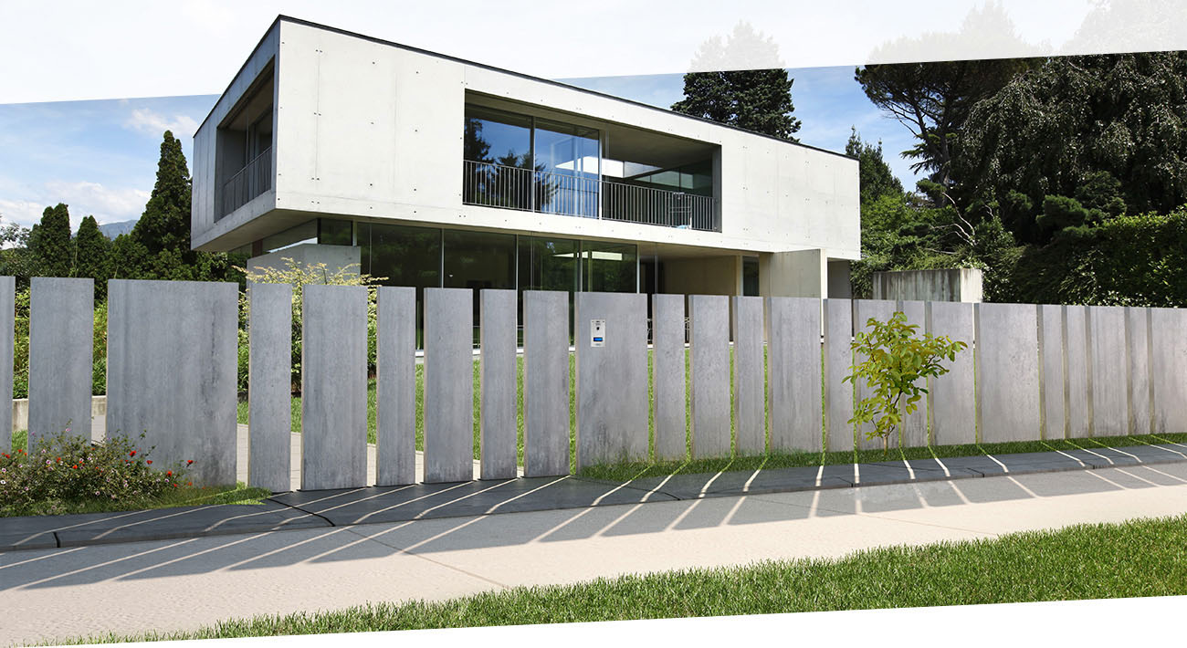 Fancy Fences Feature Retractable Gates That Disappear Into