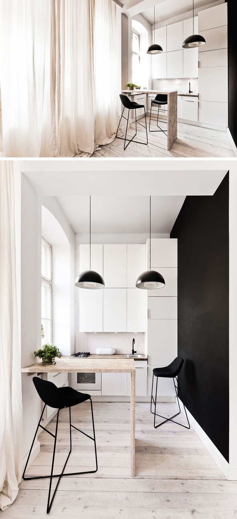 Lofty Vision: Clever Tiny Apartment Design is High on Style