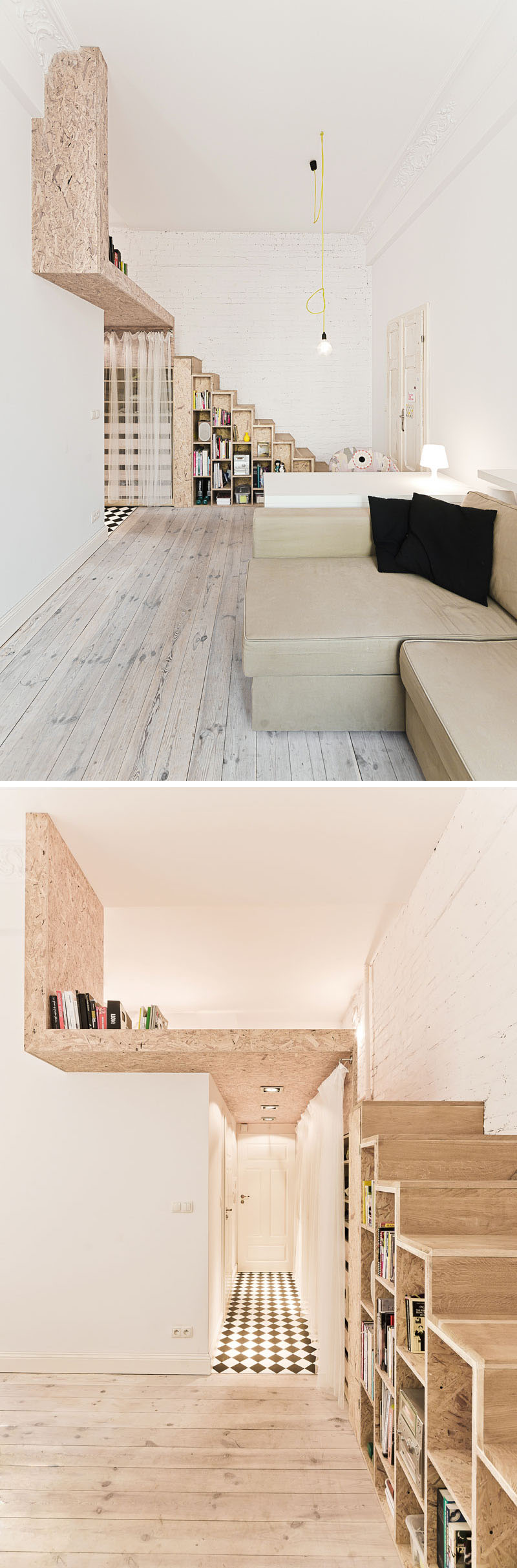 Lofty Vision: Clever Tiny Apartment Design | Designs ...