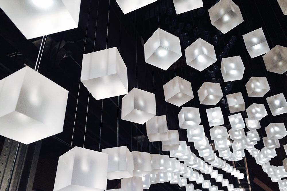 Loci cube lights