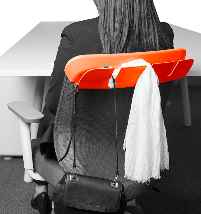 smart office chair back purse hanger