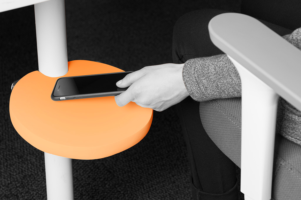 smart office undershelf