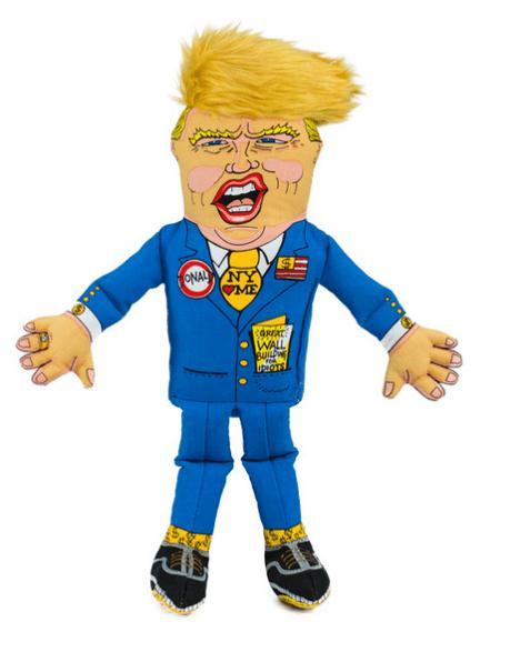 Donald Trump dog toy Fuzzu1
