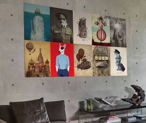 displate wall hangings