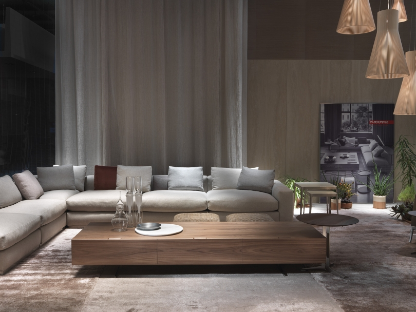 Flexform flexible italian furniture solutions for beautiful modern spaces - Italian furniture for small spaces ...