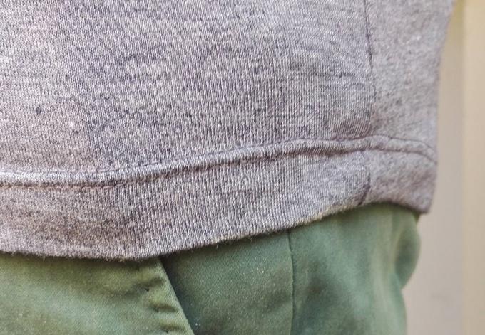 men's morph body-enhancing shirt