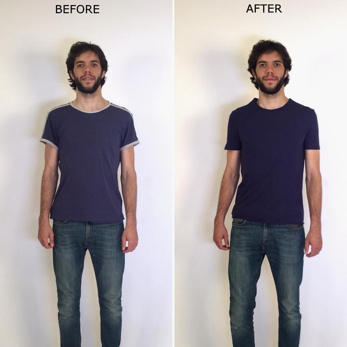 morph body-enhancing shirt