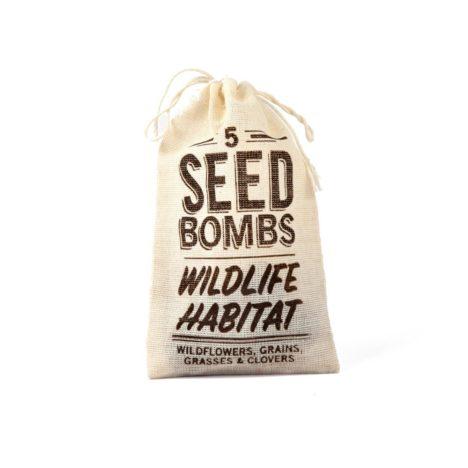 wildlife habitat seed bombs