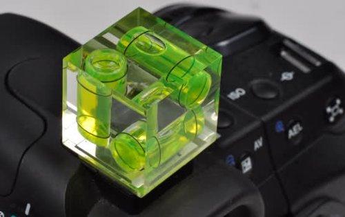 bubble level camera cube