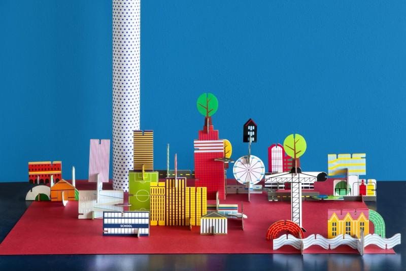 Studio Roof's Colorful 3-D Art-Toys