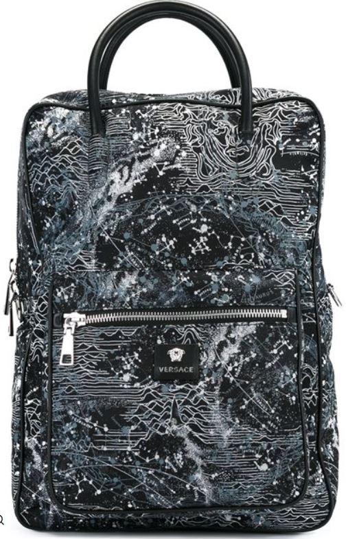 versace star backpack